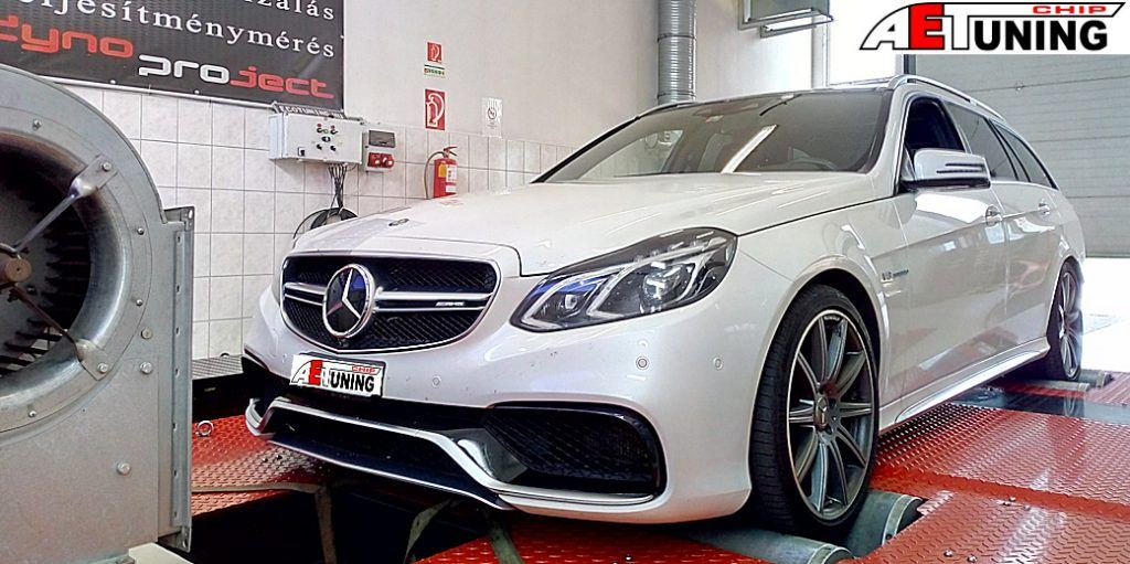 Mercedes E63 S AMG Chiptuning