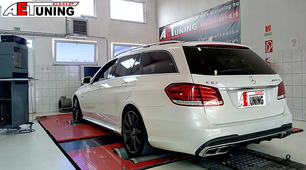 Mercedes E63 S AMG Chiptuning DYNO