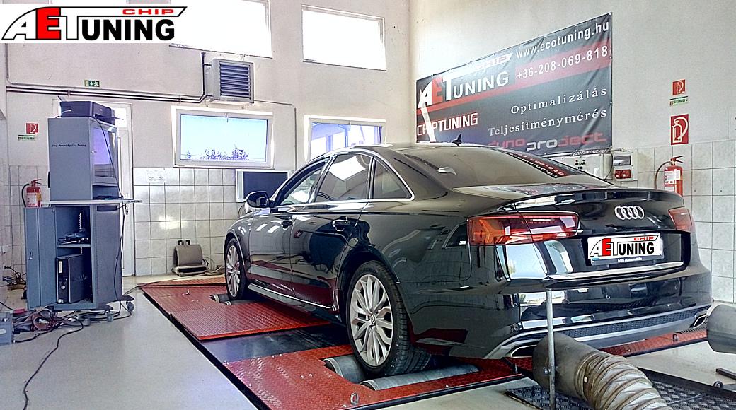 Audi A6 4G 2.0TDI Teljesítménymérés