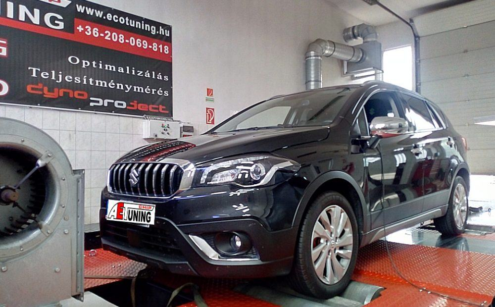 Suzuki S-Cross 1.4 Boosterjet 140LE Chiptuning