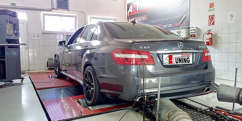 Mercedes E63 AMG Chip Tuning