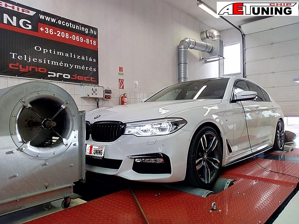 BMW G30 520D Chiptuning
