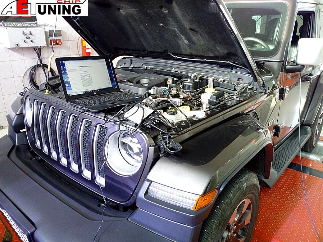 Jeep Wrangler 2.2MJET Optimalizálás