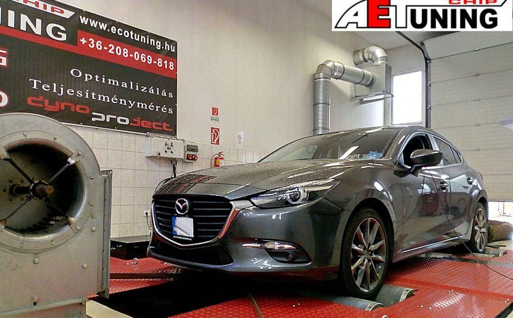 Mazda 3 2.0 Skyactive-G Chiptuning