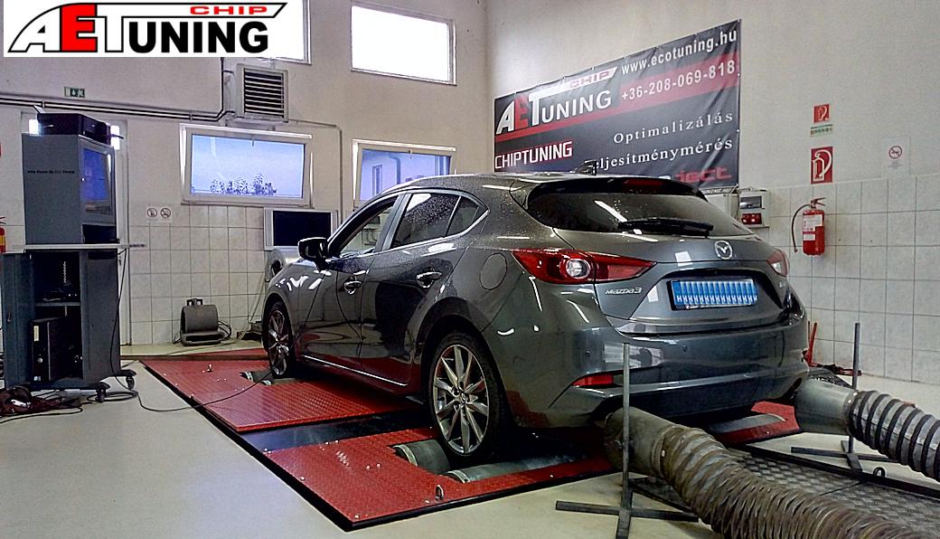 Mazda 3 2.0 Skyactive-G Csiptuning