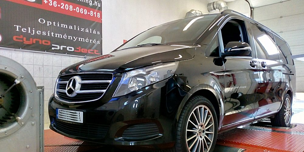 Mercedes V-Klass 200CDI Chiptuning