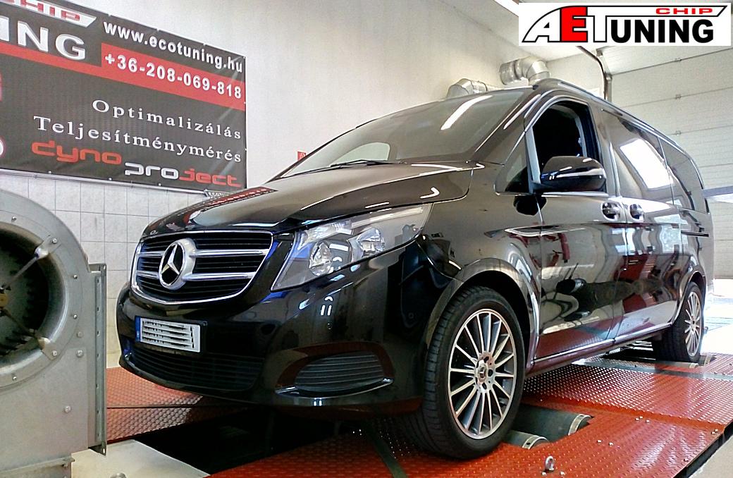 Mercedes V-Klass 200CDI Chiptuning