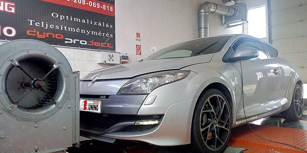 Renault Megane RS Chiptuning DYNO