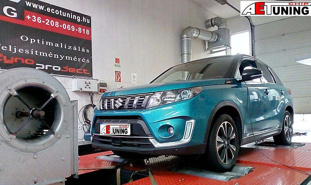 Suzuki Vitara 1.4 Boosterjet Chiptuning