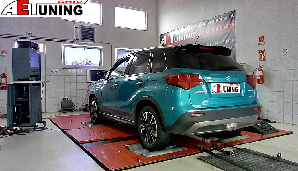 Suzuki Vitara 1.4 Boosterjet Teljesítmény mérés