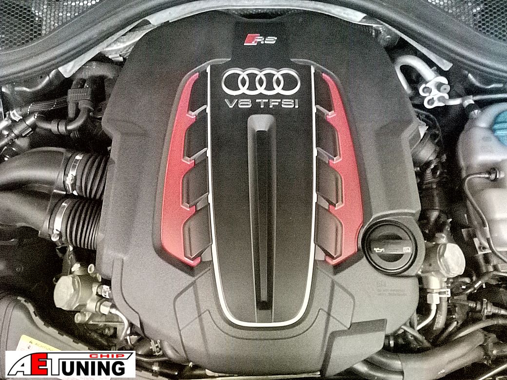 Audi RS6 V8 Engine