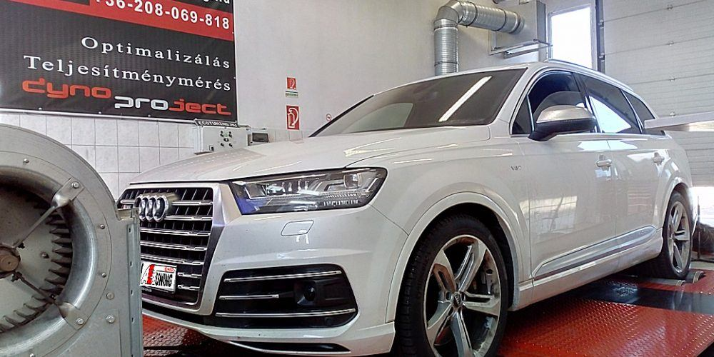 SQ7 4.0TDI V8 Chiptuning