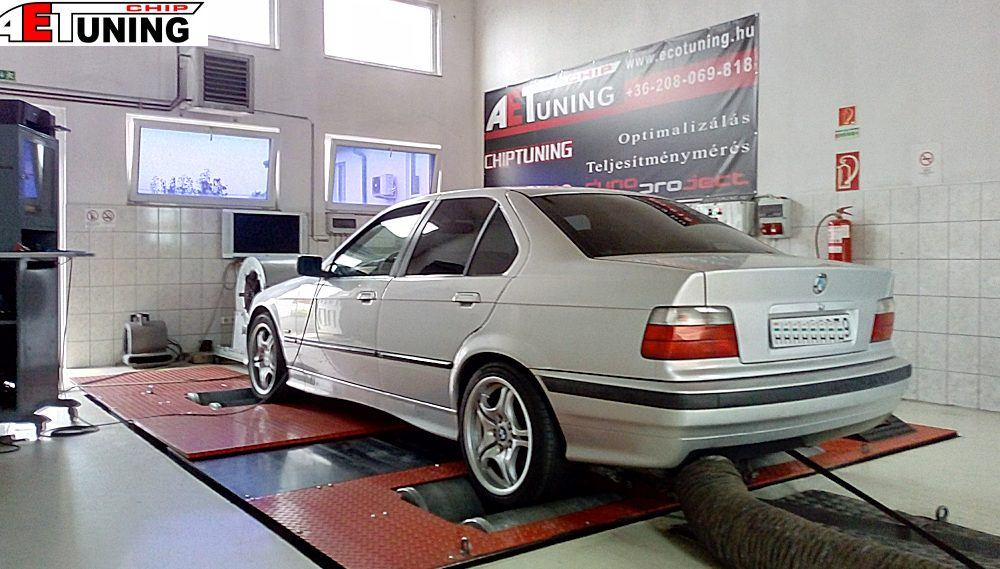 BMW 325TDS Tuningbox vs Chiptuning