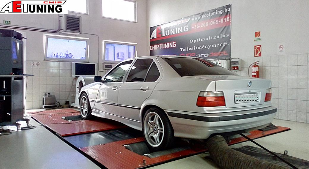 BMW 325TDS Tuningbox vs Chiptuning