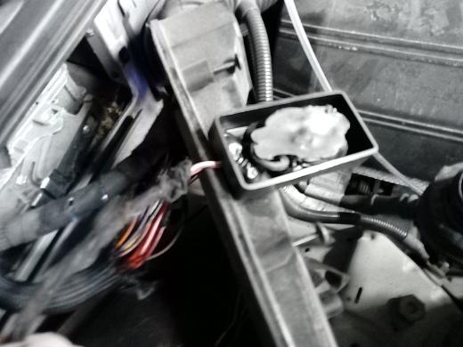 Tuningbox bekötése