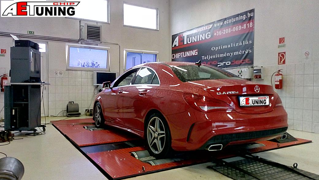 Mercedes CLA 200CDI Teljesítménymérés