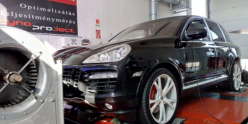 Porsche Cayenne 4.8 Turbo Chiptuning