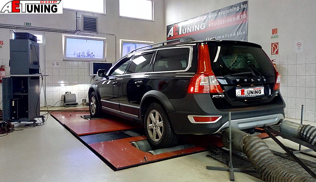 Volvo XC70 2.4 D3 Teljesítmény mérés