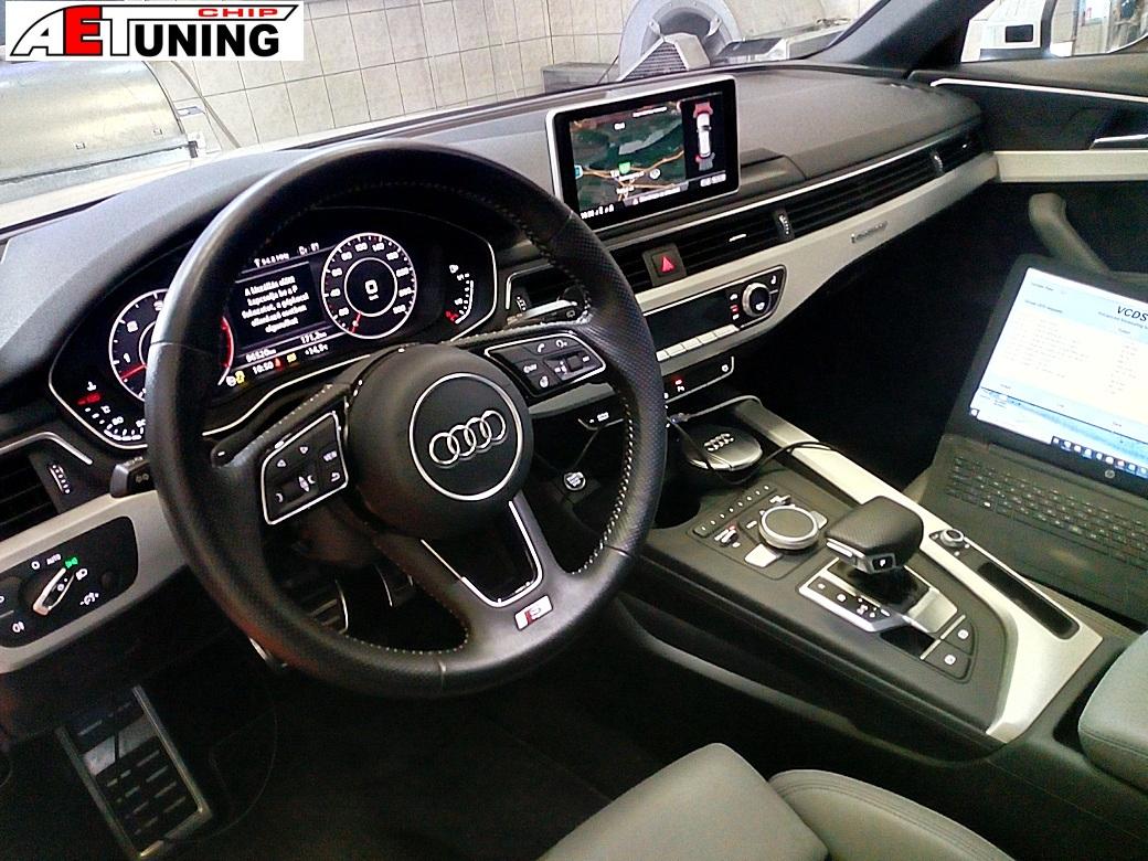 Audi A4 B9 Belső tere