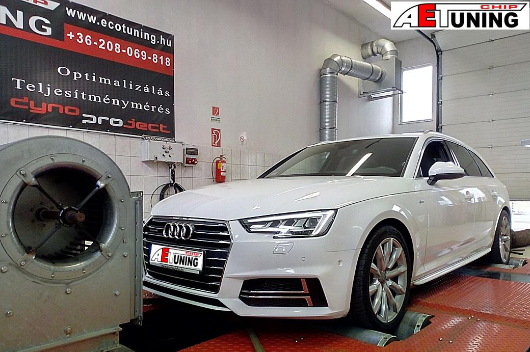 Audi A4 B9 3.0TDI 272LE Chiptuning