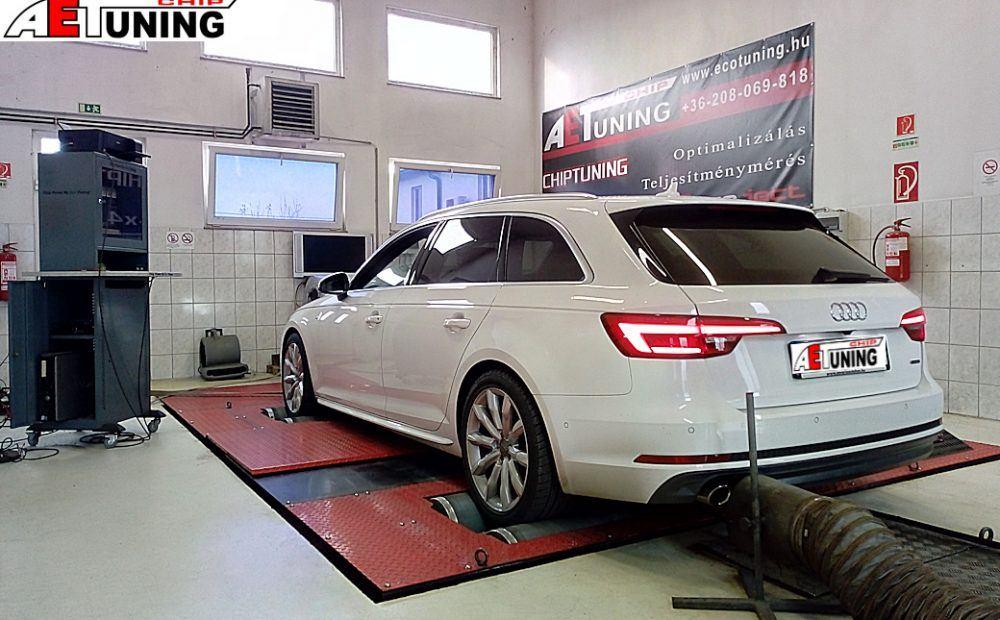 Audi A4 B9 Csiptuning