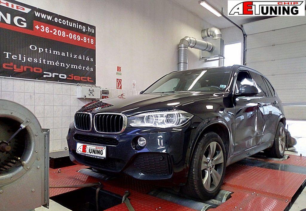 BMW X5 F15 3.0D 258LE Chiptuning