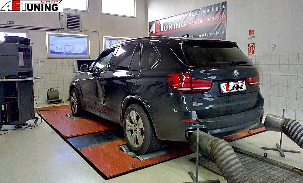 BMW X5 F15 3.0D 258LE Teljesítmény mérés