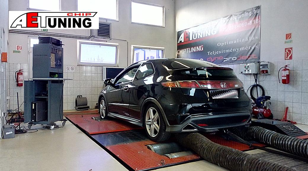 Honda Civic 2.2CTDI 140LE Teljesítménymérés