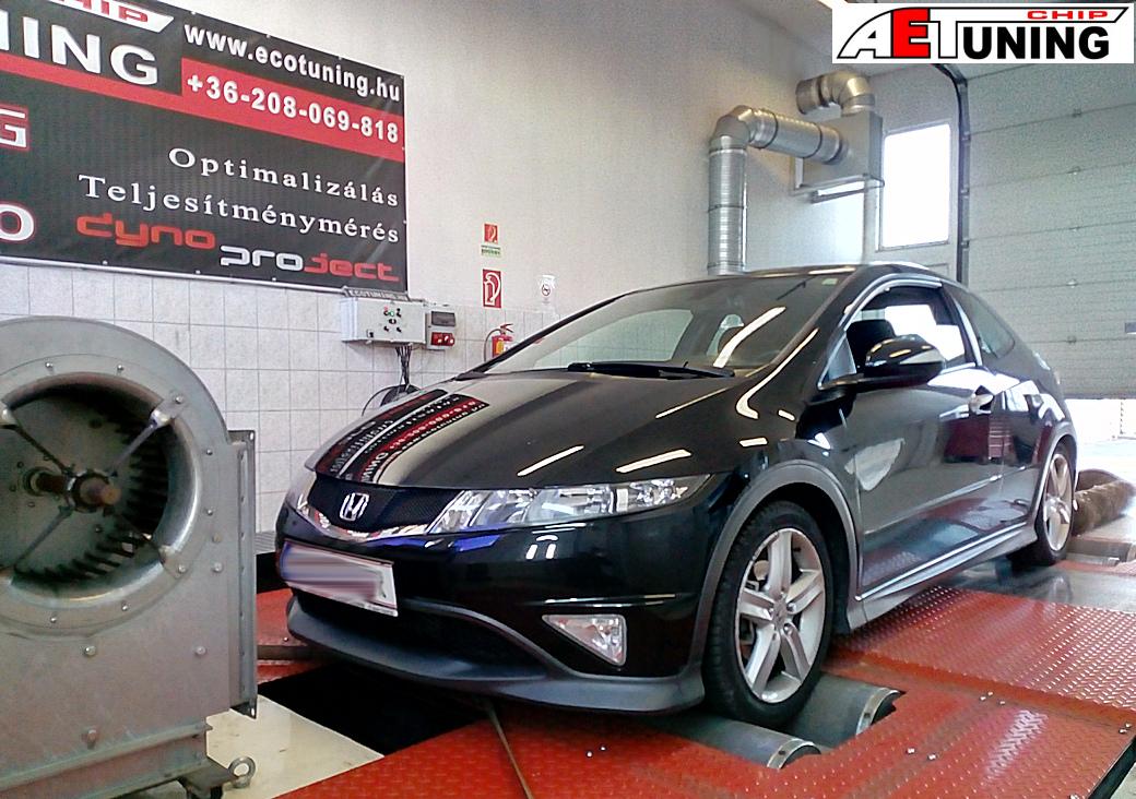 Honda Civic 2.2CTDI 140LE Chiptuning