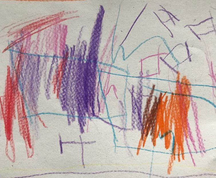 Pomogácsok. (Tőkei Luca 3 éves :-) )