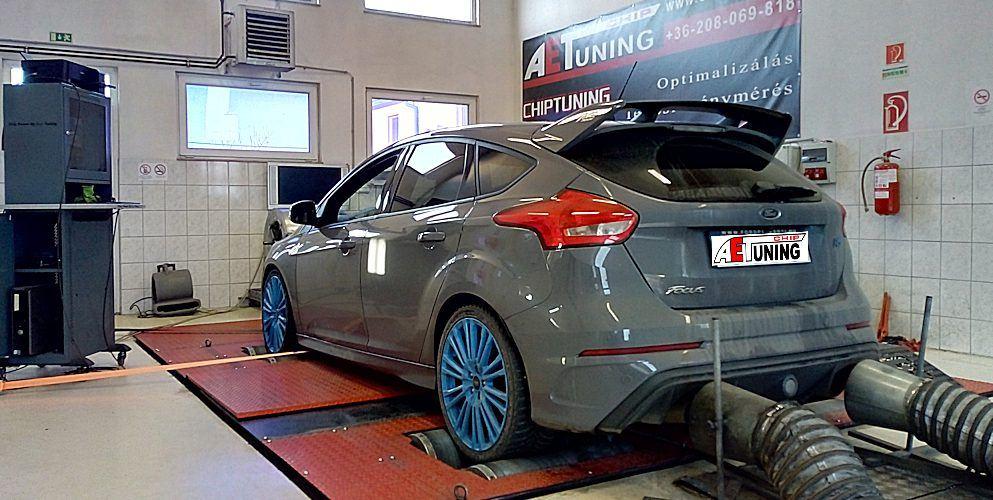 Ford Focus RS 2.3T Ecoboost 350LE Teljesítménymérés