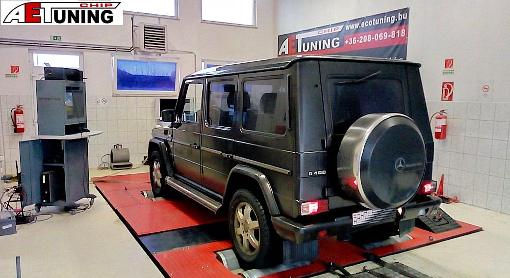 Mercedes G 400CDI DYNO
