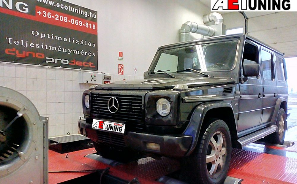 Mercedes G 400CDI 250LE Chiptuning