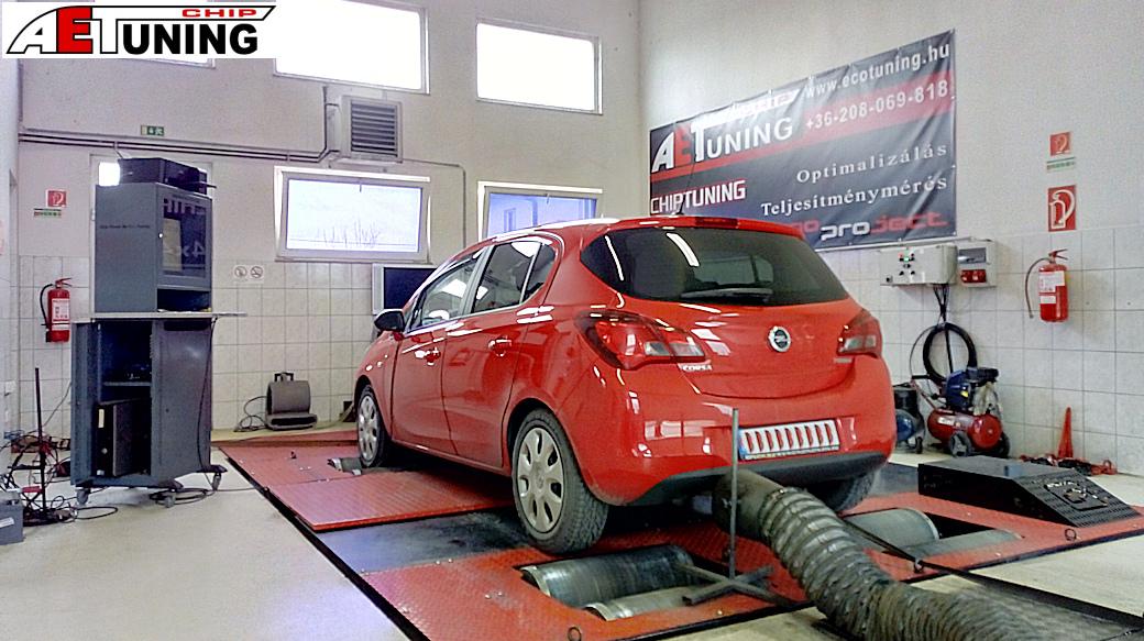 Opel Corsa E 1.4T 100LE Csiptuning
