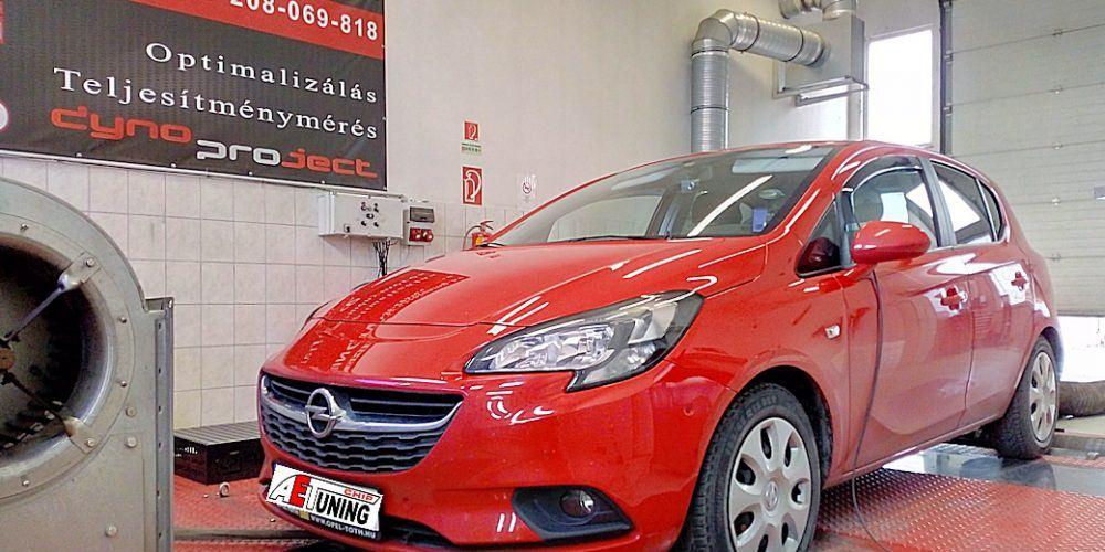 Opel Corsa E 1.4T 100LE Chiptuning