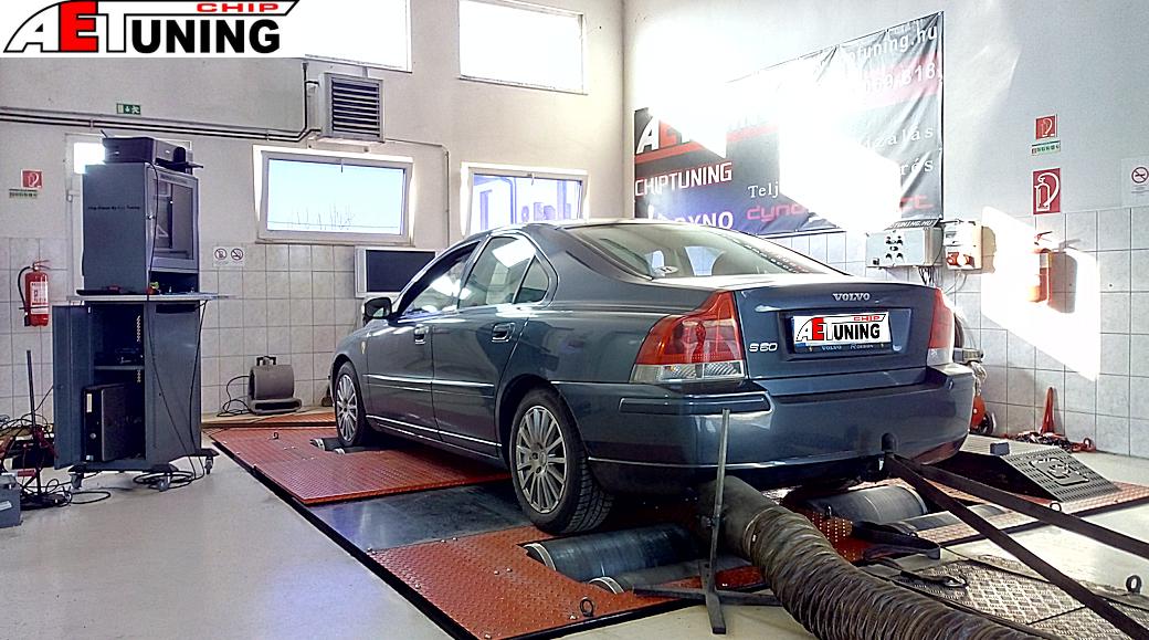 Volvo S60 2.4D Teljesítménymérés