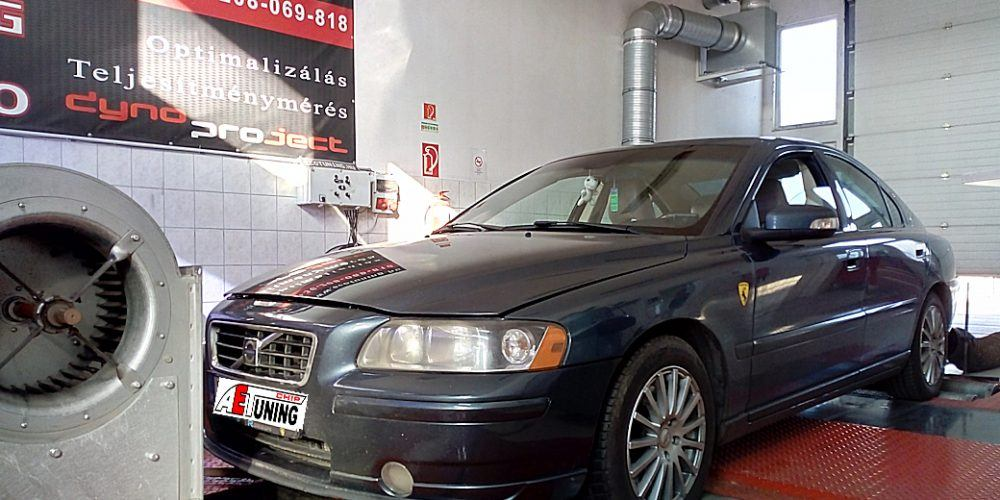 Volvo S60 2.4D 126LE Chiptuning