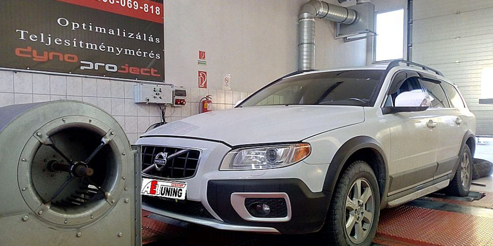Volvo XC70 2.4D 163LE Chip tuning