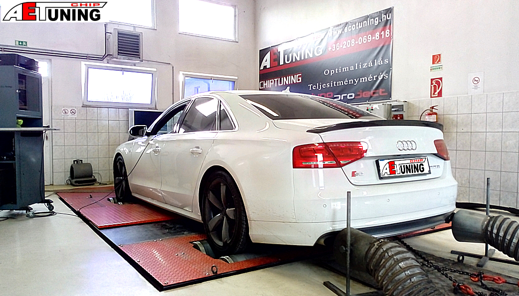 Audi S8 Chip tuning