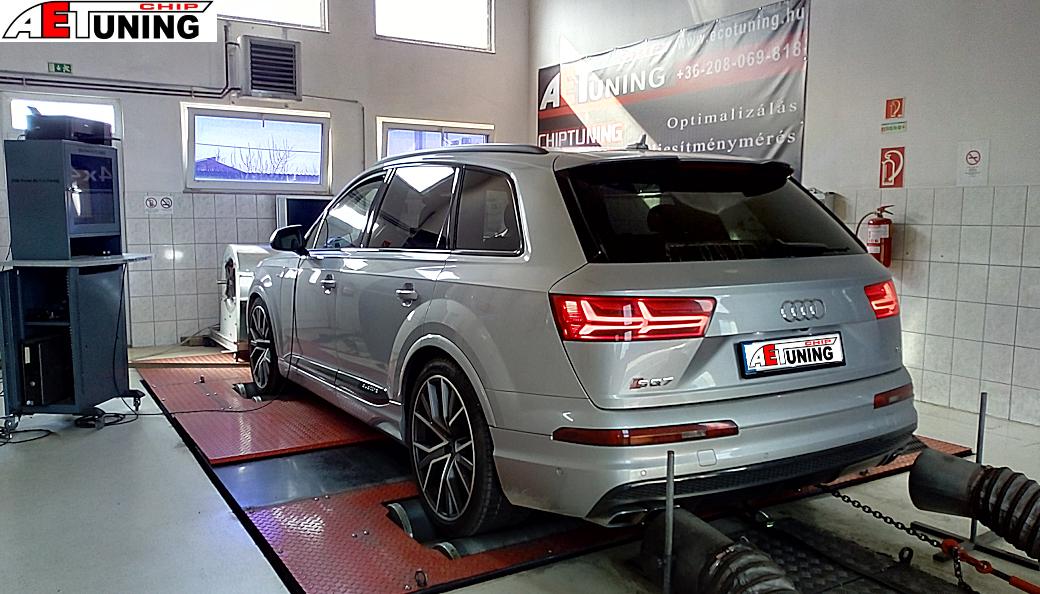 Audi SQ7 Motoroptimalizálás