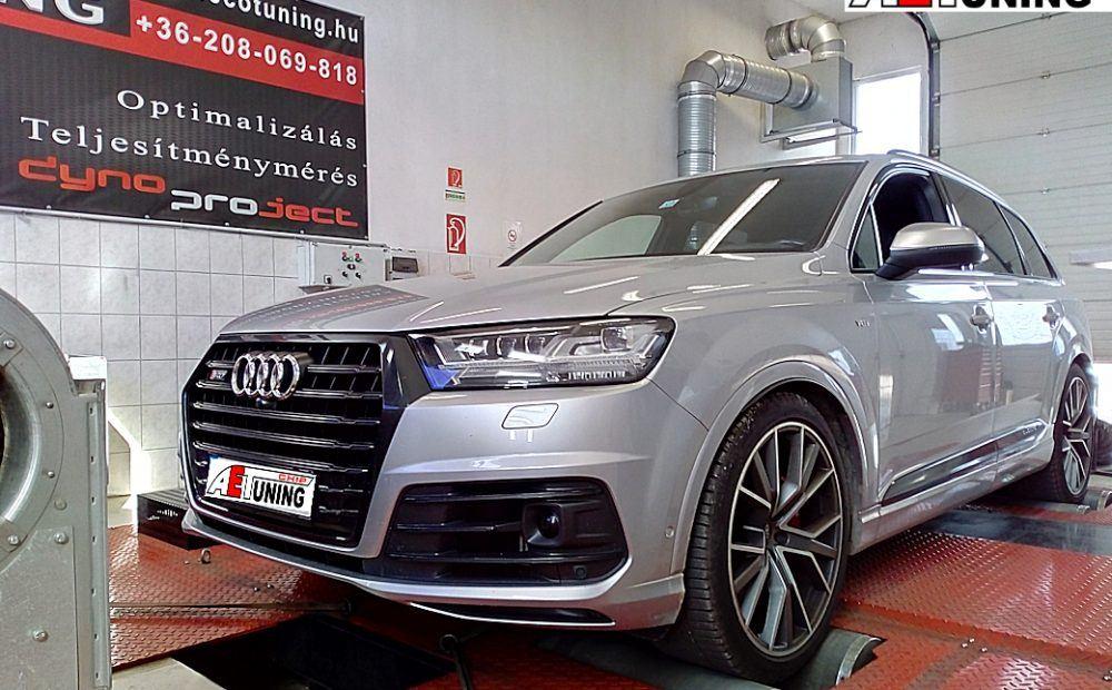 Audi SQ7 Chiptuning Motoroptimalizálás