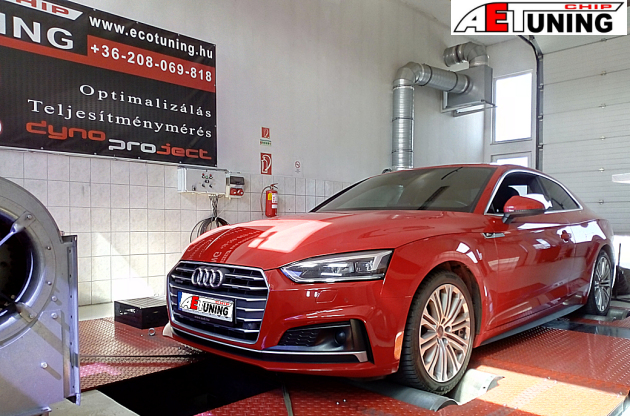 Audi A5 2.0TFSI 252LE Chiptuning
