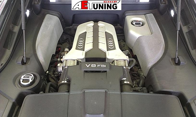Audi R8 Motortér