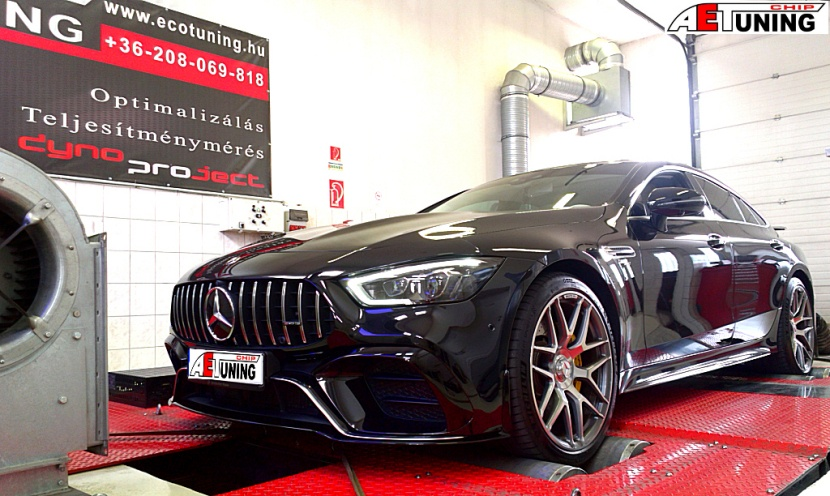 Mercedes GT 43 AMG Chiptuning