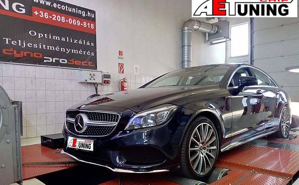 Mercedes CLS 500 Chiptuning