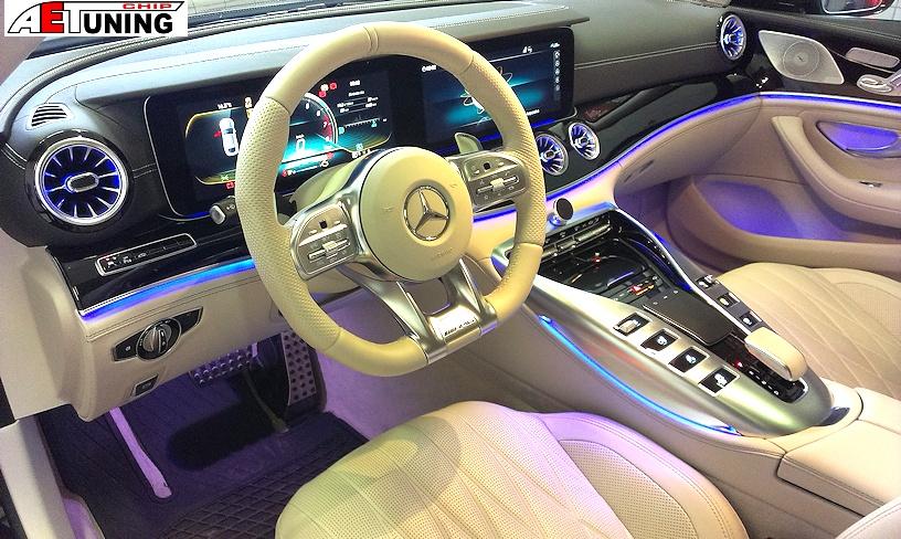 Mercedes GT Belsőtér műszerfal