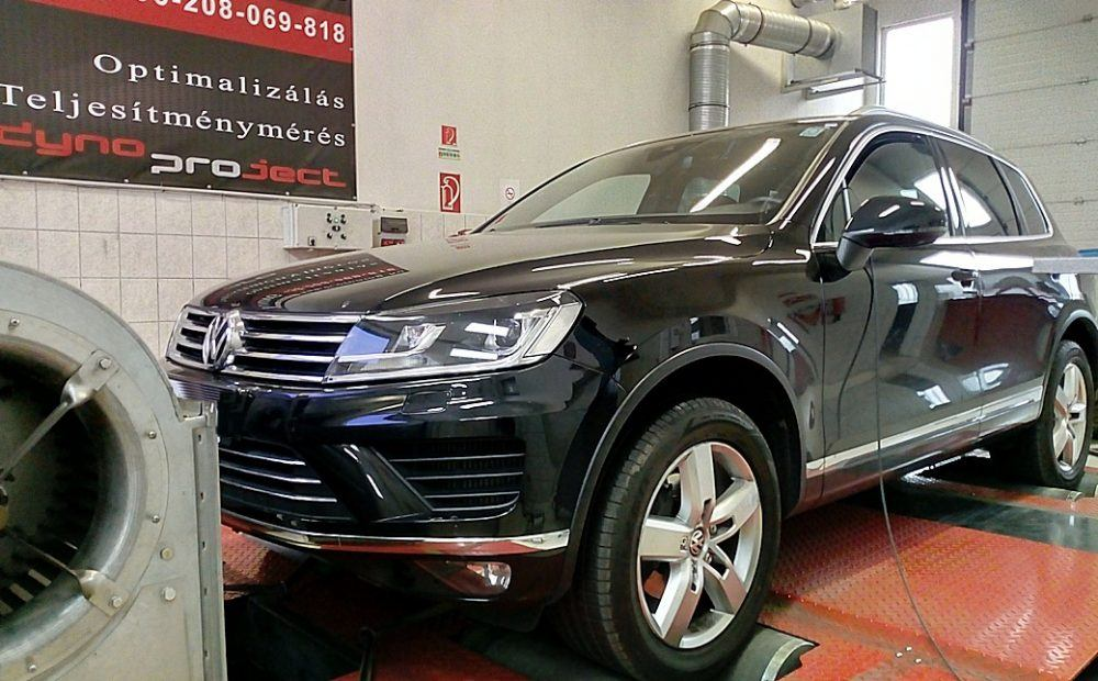 VW Touareg Chiptuning javítása