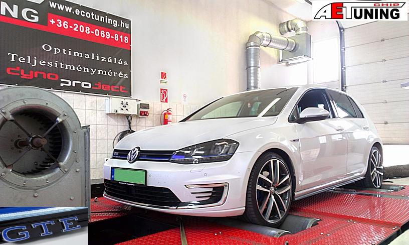 Golf GTE Plug-In Hybrid Chiptuning