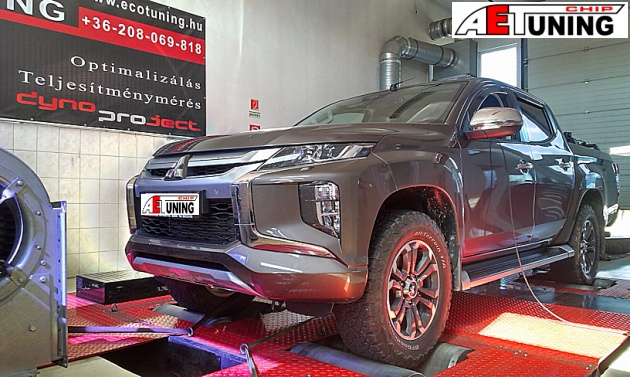 Mitsubishi L200 2.2DID 150Le Chiptuning