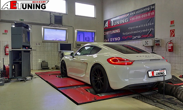 Porsche Cayman 2.7DFI Chiptuning javítás